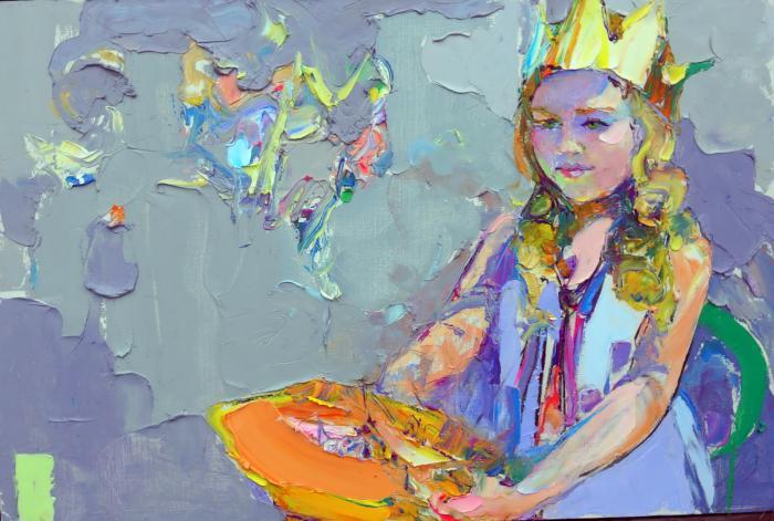 Piece of Melon. 70х100cm. Oil on canvas. 2014