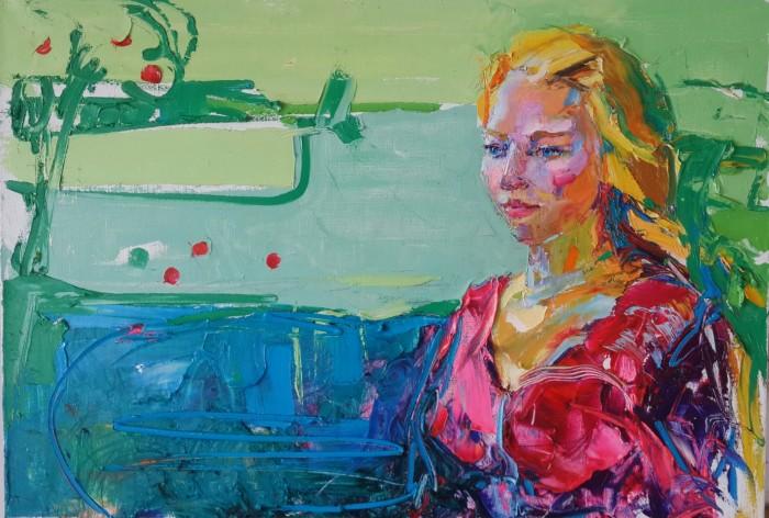 Eve. 70х100cm. Oil on canvas. 2013