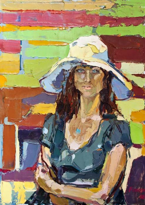 Lora. 90х120cm. Oil on canvas. 2008