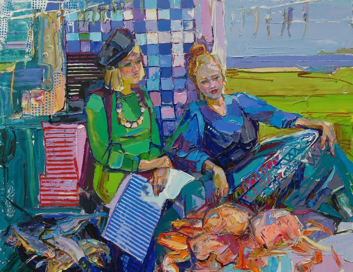 May. 153х196cm. Oil on canvas. 2013