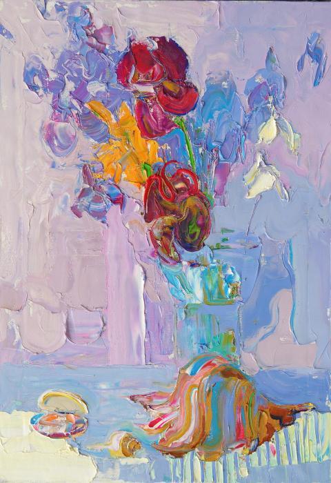 Nacre. 100х70cm. Oil on canvas. 2013