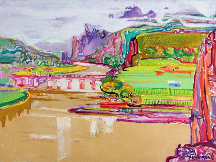 Suifun River. 60х80cm. Oil on canvas. 2013