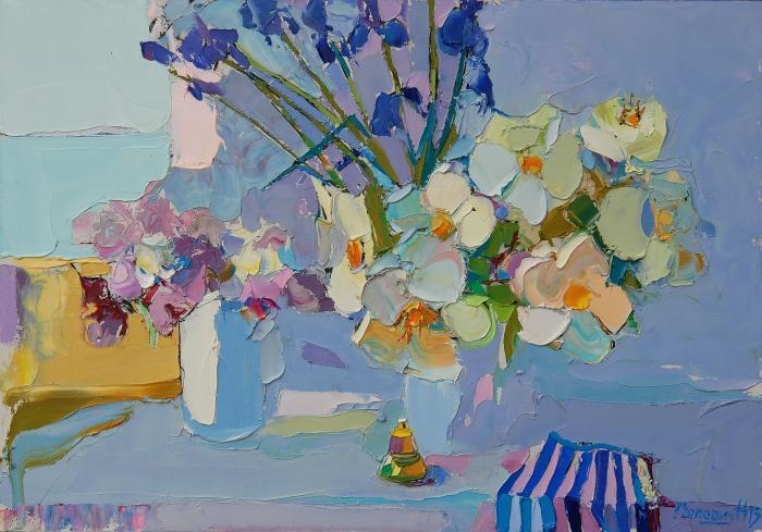 Morning. 60х90cm. Oil on canvas. 2013
